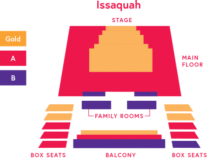 Issaquah Seating Chart