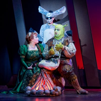 Photo from the Issaquah production of Shrek the Musical.