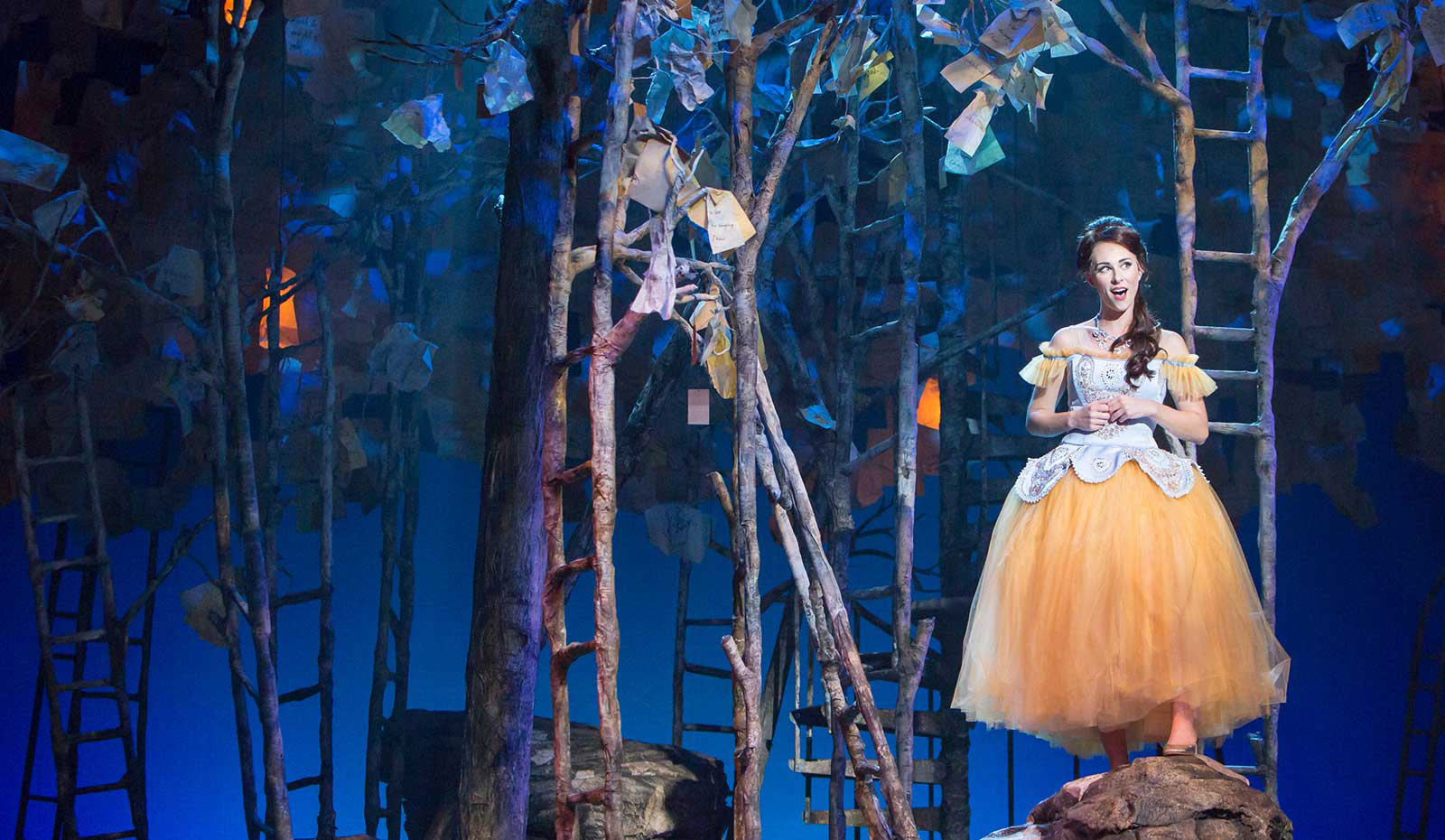 "Village Theatre's production of ""Into the Woods,"" made possible by our generous donor family"
